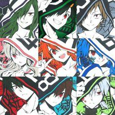 Anime Group, Kagerou Project, Happy Tree Friends, Epic Art, Manga, Anime Comics, Spirit Animal, Animal Crossing, Anime Guys