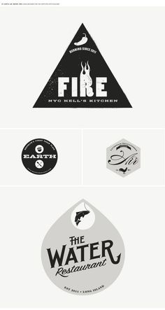 LOGO DESIGN II by Mark Brooks, via Behance
