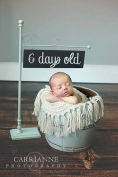 Clever for photographing your new baby. Etsy listing at https://www.etsy.com/listing/177495416/chalkboard-sign #PhotographyProps