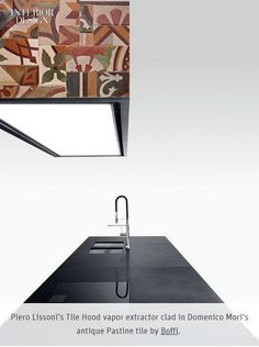 Tile Hood by Piero Lissoni seen on Interior Design Magazine Discover TILE…