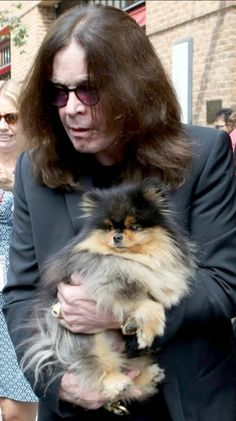 Ozzy Osborne TO WHOEVER SAYS I HAVE A FRUFRU DOG.. BEHOLD.