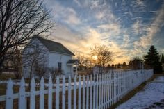 Sky Was Enough by Jim Denham on 500px Sunset on The Heritage House - Woodbury, MN