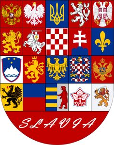 Coat of Arms of Slavia - pr. 3 by VittorioMatteo on deviantART