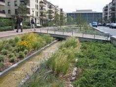 Requalification des espaces publics du Centre Ville de Noisy Le Grand (Seine-Saint-Denis), 2008 - arch. Atelier de l'île