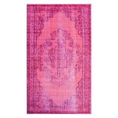 nuLOOM Genisa Overdyed Area Rug - The nuLOOM Genisa Overdyed Area Rug adds a classic look to any room, in your choice of color no less. Machine-made, this area rug is given a...