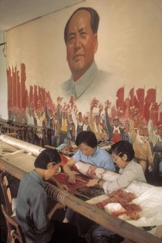 Bruno Barbey amazing Color Photographs of Daily Life in China in the 1970's