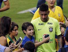 24.03.16 Treino !! #Neymar #SeleçãoBrasileira ⚽❤