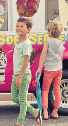 Boys in skinnies. #kids #fashion