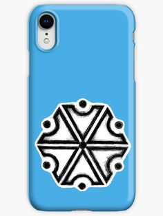 'Perun, Slavic God of Thunders symbol (iPhone Blue version)' iPhone Case by WearGraphics Iphone Wallet, Iphone Cases, Pagan Symbols, Wicca, Protective Cases, Thunder, Ipad Case, Smartphone, God