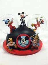 Beautiful *RARE* Disney Mickey Mouse Club Musical Snowglobe Hard to Find