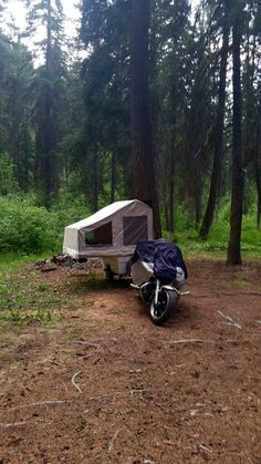 Any spot is a campground when you have a Kompact Kamp Mini Mate motorcycle camper. Pull Behind Motorcycle Trailer, Pull Behind Campers, Motorcycle Campers, Motorcycle Logo, Small Camper Trailers, Small Trailer, Small Campers, Cargo Trailers, Camper Interior