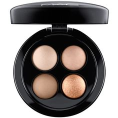MAC Mineralize Eye Shadow Quad, Future MAC Collection ($46) ❤ liked on Polyvore featuring beauty products, makeup, eye makeup, eyeshadow, nano nude, mac cosmetics eyeshadow, mineral eye shadow, mineral eye makeup, mineral eyeshadow and mac cosmetics