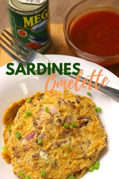 Sardines Omelette - Sardines Recipes ( Omelet Recipes ) - Pinoy Recipes. A simple Sardines Recipes / Omelette recipes during this time.  Ingredients: 1 Can         Sardines 1 piece       Onion 2 Pieces     Egg 1/8 tsp       Magic Sarap (Optional)                    Cooking oil                    Salt                    Pepper  Note: Do not throw the Tomato Sauce in Sardines Can, You may use it as Dipping sauce.  #sardinesomelette #Omeletterecipes #Sardinesrecipes Best Deviled Eggs, Deviled Eggs Recipe, Sardine Recipes, Omelette Recipe, Pinoy Food, Cooking Oil, Egg Recipes, Tomato Sauce, Stuffed Peppers