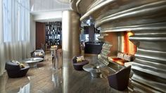 ROCKWELL GROUP | Brilliant room with modern decoration | www.bocadolobo.com #bocadolobo #luxuryfurniture #exclusivedesign #top100interiordesigners #top100 #interiordesign
