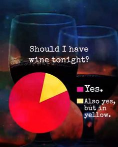 Should I have wine tonight? 🍷 Wine Jokes, Wine Meme, Alcohol Humor, Funny Alcohol, Alcohol Quotes, Craft Quotes, Drinking Quotes, Funny As Hell, Frases