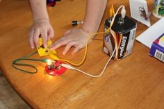 Cool electricity projects to do with kids. I love this whole blog!
