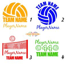 Custom Volleyball Decal With Name by DesignYourDesign on Etsy Volleyball Mom Quotes, Volleyball Locker Signs, Volleyball Locker Decorations, Volleyball Shirt Designs, Volleyball Posters, Volleyball Shirts, Coaching Volleyball, Volleyball Pictures, Volleyball Setter