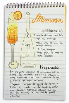Mimosa: cóctel con cava