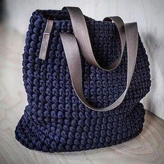 Nertiniai- crochet bag