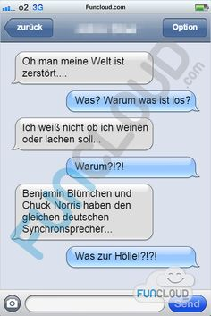 Synchronsprecher - SMS Fails des Tages 31.03.2015 | Funcloud
