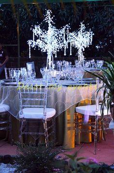 1000 images about arbol con cristales on pinterest - Cristales para mesa ...