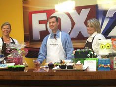 Kara and DeAnn had a great time on @fox2now this morning talking about sweets & National Decorate a Cake Day tomorrow! Stop by and see us tomorrow for 1/2 OFF CAKE DECORATING in store! #STL #Fun