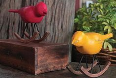 Rocking Bird | Bird Statues