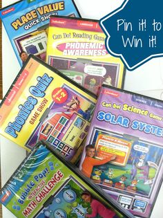 Five great interactive learning games from Lakeshore Learning for PC or Mac to boost kids' learning, including Bubble Pop, Solar System, Phonics Quiz, Phonemic Awareness and Place Value. Find these games and others at lakeshorelearning.com #giveaway #PinittoWinit
