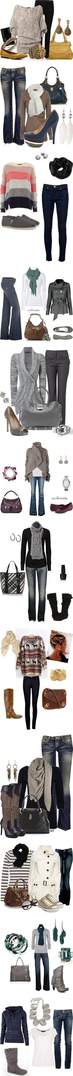 All these outfits // Cute fall outfits // Inspiration