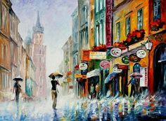Summer Downpour |LIMITED EDITION GICLEE| by Leonid Afremov |