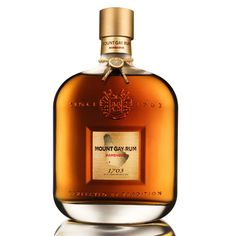 Product name: Mount Gay 1703 Barbados Rum Old Cask Selection Brand: Mount Gay Distillery: Mount Gay Distillers Alcohol by volume: Alcohol proof: Age: Spices Tequila, Vodka, Alcohol Bottles, Liquor Bottles, Barbados Rum, Jamaica, National Rum Day, Good Rum, Bourbon Barrel