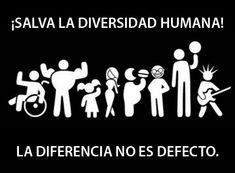 La diferencia no es defecto.