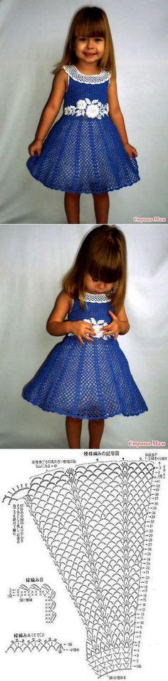 Платье для девочки 'Очарование'