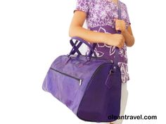 Mauve Purple Women Leather Duffle Bag , Violet Luggage Sports Ditty Utility Travel Weekend Bag, Gift for her - http://oleantravel.com/mauve-purple-women-leather-duffle-bag-violet-luggage-sports-ditty-utility-travel-weekend-bag-gift-for-her