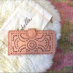 CLEOBELLA MEXICANA PAINTED WALLET Blush color Cleobella Mexicana Painted Wallet. In gently used condition. Comes in original canvas protective bag. Cleobella Bags Wallets