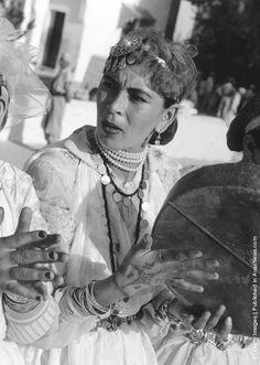 Moroccan musician, 1910