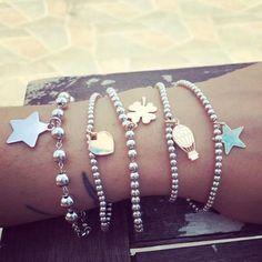 Pandora Jewelry OFF! Pandora Jewelry Box, Pandora Bracelets, Charm Jewelry, Pandora Charms, Arm Candy Bracelets, Silver Bracelets, Jewelry Bracelets, Jewelery, I Love Jewelry