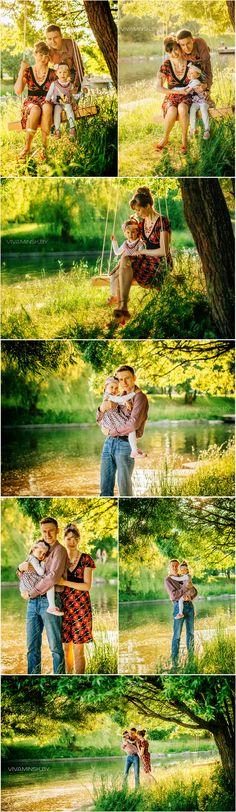 Семейная фотосессия на природе, фотосессия идеи, качели, фото семьи, Beautiful Family Photo Session | Loving Family with Children Lifestyle Photography