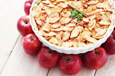 Dr. Joel Fuhrman's Apple Crunch Pie   The Dr. Oz Show   Follow this Dr. Oz Recipe board Now and Make it later!   Sweet and crunchy, this recipe proves you can eat healthy and have dessert.