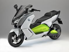 BMW shows 75 mph electric scooter  BMW says its C Evolution is the final development step towards a production electric two-wheeler.