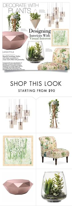 """Grow a Little: Planters"" by orietta-rose on Polyvore featuring interior, interiors, interior design, home, home decor, interior decorating, Zuo, Threshold, Umbra and plants"