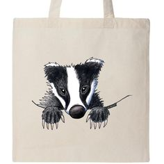 A badger who'll protect your belongings from any deceitful strangers.