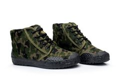 #Autumn Camouflage Men's Boots