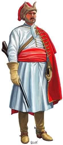 Horseman in service of Nikola Zrinski, 1646: