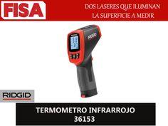 TERMOMETRO INFRARROJO 36153. Dos laseres que iluminan la superficie a medir- FERRETERIA INDUSTRIAL -FISA S.A.S Carrera 25 # 17 - 64 Teléfono: 201 05 55 www.fisa.com.co/ Twitter:@FISA_Colombia Facebook: Ferreteria Industrial FISA Colombia