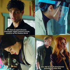 """#Shadowhunters 1x08 """"Bad Blood"""" - Isabelle is The Best Forensic Pathologist in New York"""