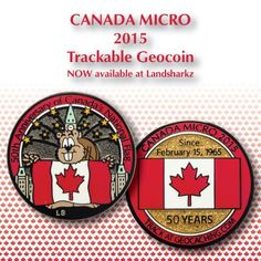 Geo-Mini Geocoin For Geocaching Three Classic Colours Available