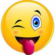 funny text messages Wink Tongue Out Emoticon