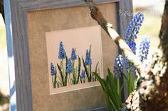 Rainbow of Stitches: Muscari