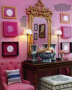Chinoiserie Chic: Mary McDonald - The Glamour of Chinoiserie